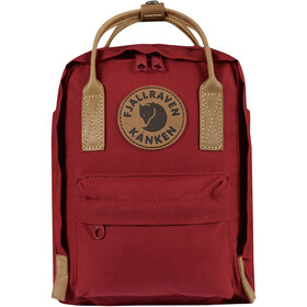 Fjällräven Kånken No.2 Mini Rugzak Kinderen, deep red
